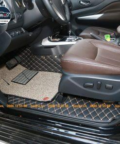 Thảm lót sàn ô tô da carbon cho xe NissanThảm lót sàn ô tô da carbon cho xe Nissan