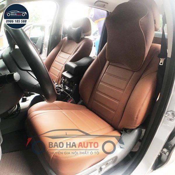Bọc ghế da ô tô giả da cao cấp Thái Lan cho xe Toyota