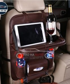 Túi treo để đồ sau ghế ô tô kèm bàn ăn đa năng, tiện lợi