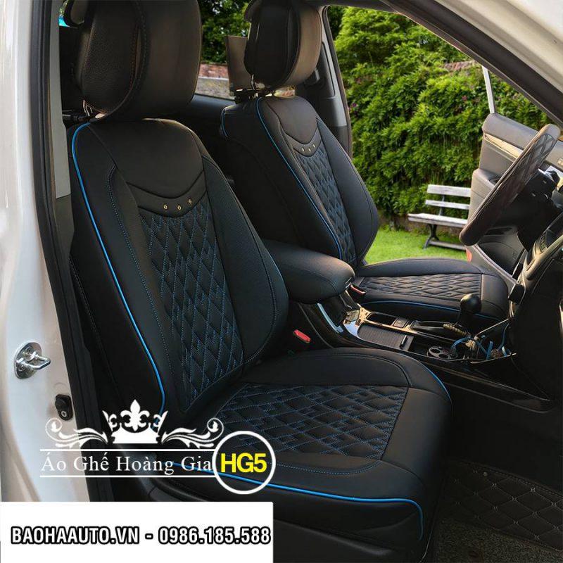 Áo ghế da ô tô mẫu Caro Hoàng Gia cao cấp (đẳng cấp sang trọng)