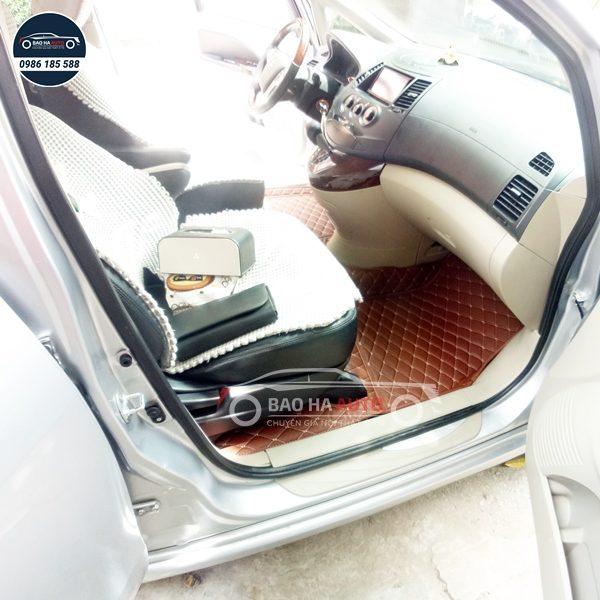 Thảm lót sàn ô tô da công nghiệp cho xe Mitsubishi