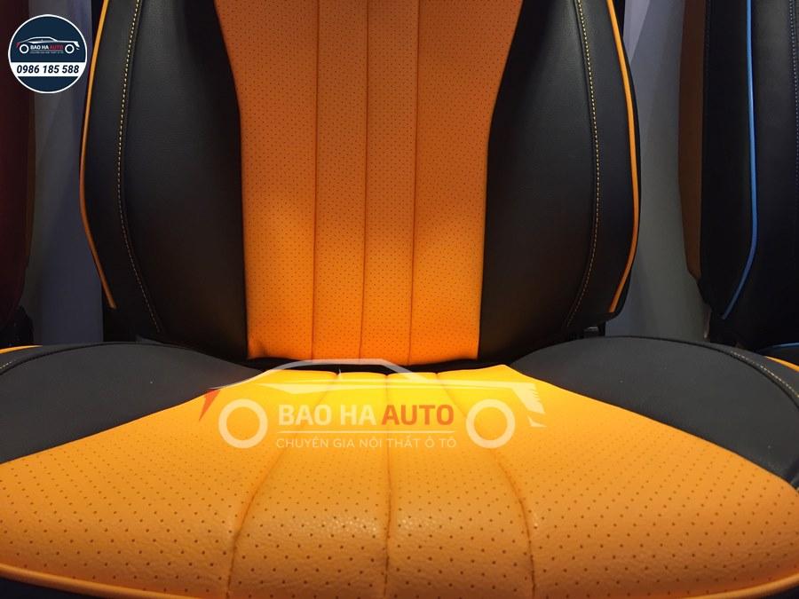 Áo ghế da ô tô cao cấp phong cách đương đại (da cao cấp)
