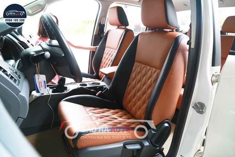 Bọc ghế da ô tô cho xe FORD da công nghiệp cao cấp