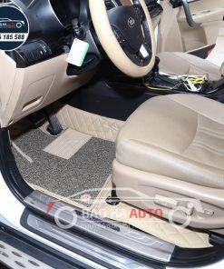Thảm lót sàn ô tô da công nghiệp cho xe KIA