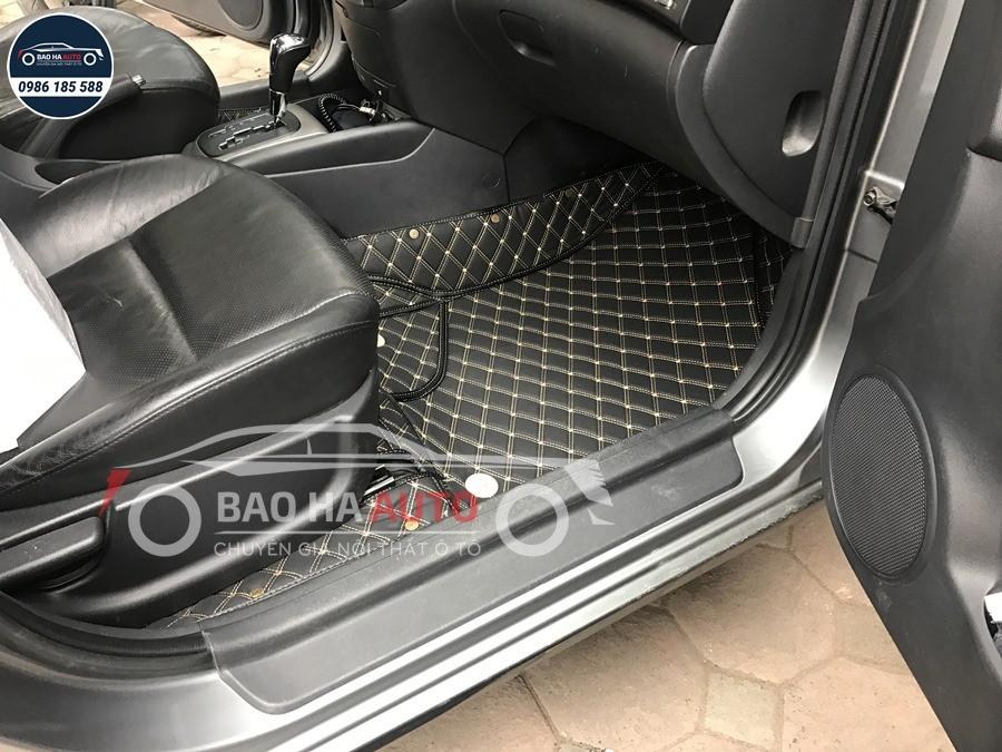 Thảm lót sàn ô tô da công nghiệp cho xe Hyundai (sang trọng, giá rẻ)