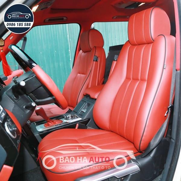 Bọc ghế da ô tô Range Rover - chất liệu da thật 100%