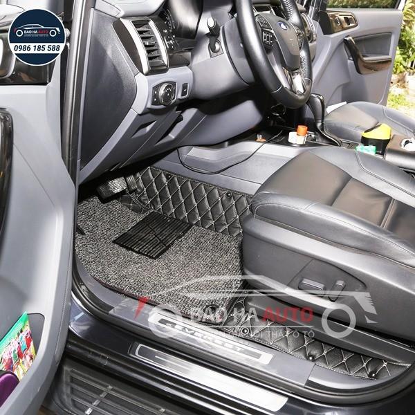 Thảm lót sàn ô tô da công nghiệp cho xe Ford