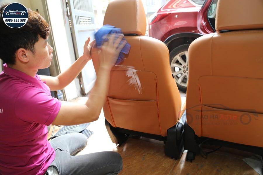Bọc ghế da ô tô cho xe Hyundai da công nghiệp cao cấp