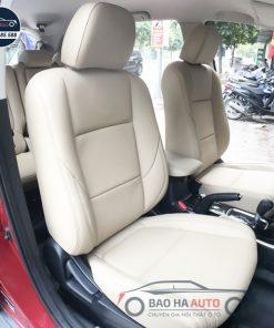 Bọc ghế da công nghiệp cao cấp cho xe Mitsubishi