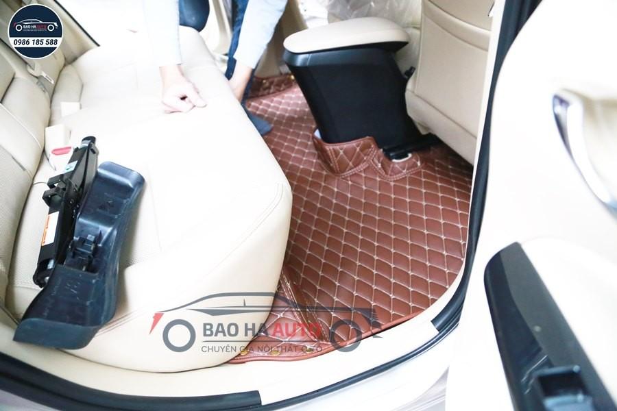 Thảm lót sàn ô tô da công nghiệp cho xe Toyota (cao cấp, giá rẻ)