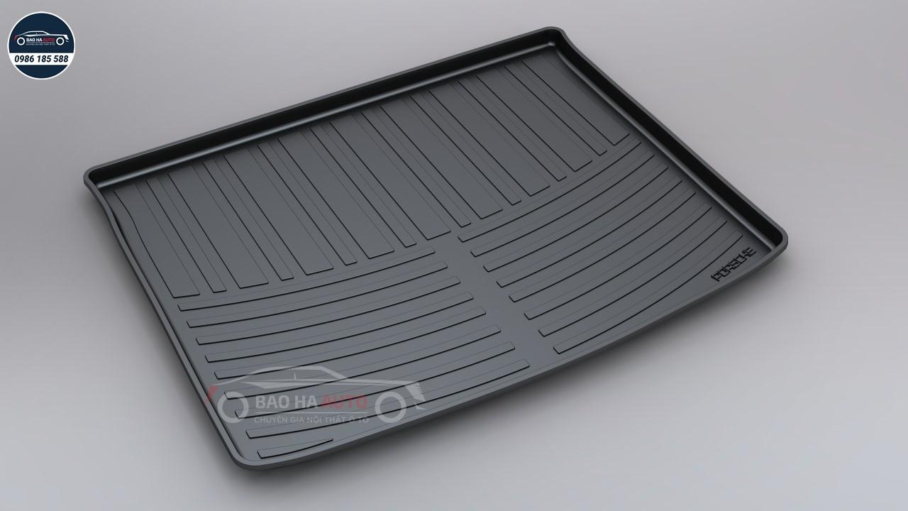 Thảm lót cốp ô tô nhựa TPO xe Porsche cao cấp (giá rẻ, đẹp)