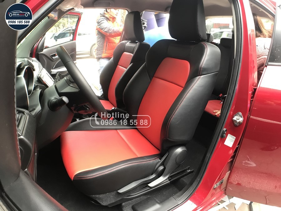 Bọc ghế da ô tô cho xe Suzuki da công nghiệp cao cấp