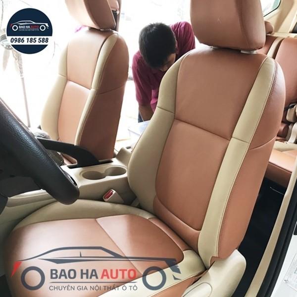 Bọc ghế da ô tô Mazda - chất liệu da thật 100%