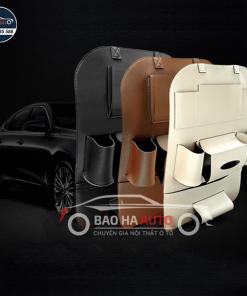 Túi da để đựng đồ lưng ghế ô tô