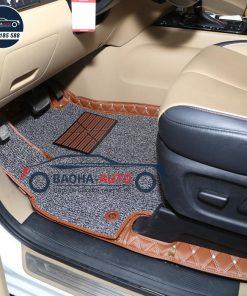 Thảm lót sàn ô tô da 5D 6D cho xe KIA