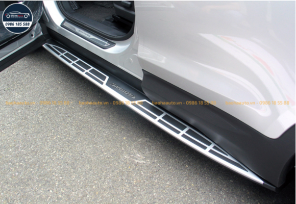 Bậc bệ bước chân lên xuống xe Hyundai SantaFe (cao cấp, giá rẻ)