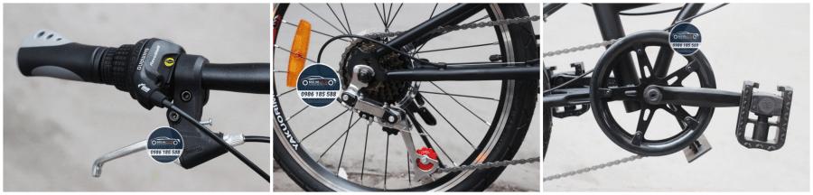 Xe đạp gấp gọn Audi Sport cao cấp theo xe ô tô (chính hãng, giá rẻ)