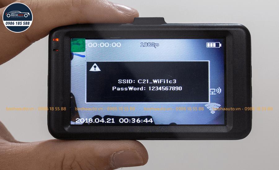 Webvision S8 Plus – Camera hành trình ô tô ghi hình trước sau