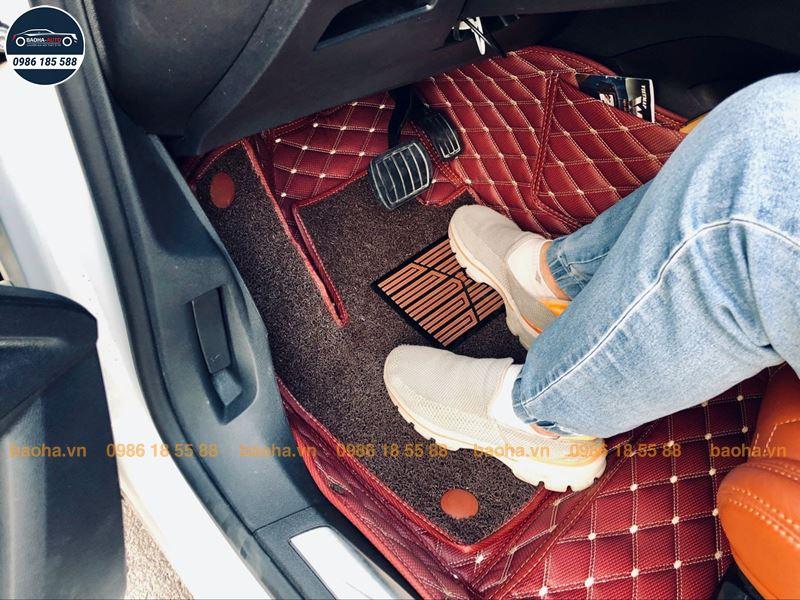 Thảm lót sàn ô tô da 5D 6D cho xe Nissan (100% da cao cấp)