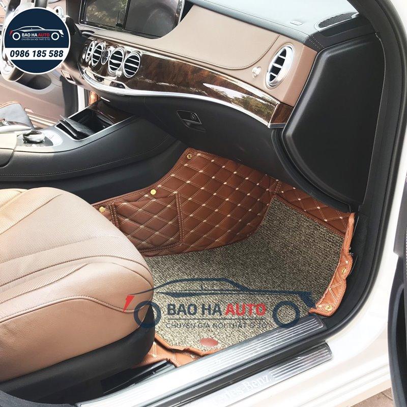 Thảm lót sàn ô tô da 5D 6D cho xe Mercedes - BenzThảm lót sàn ô tô da 5D 6D cho xe Mercedes - Benz