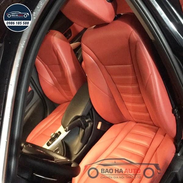 Bọc ghế da công nghiệp xe BMW