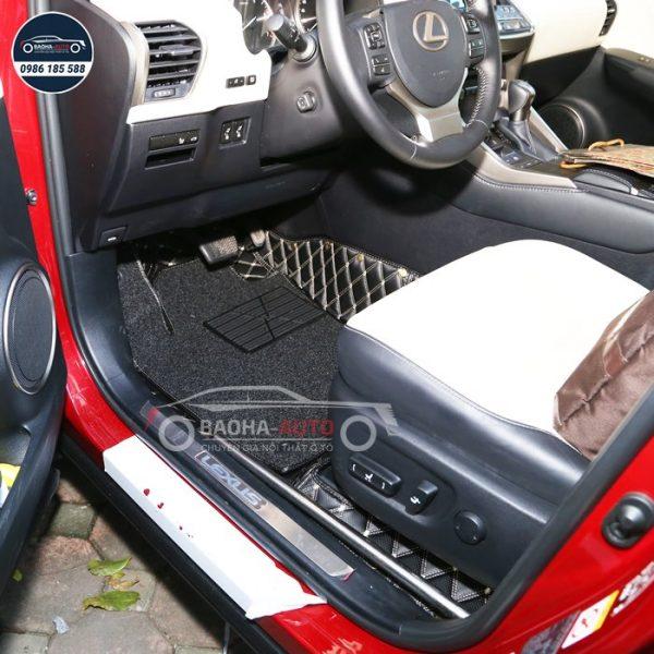 Thảm lót sàn ô tô da 5D 6D cho xe Lexus