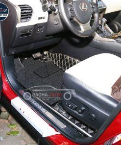 Thảm lót sàn ô tô da carbon cho xe Lexus
