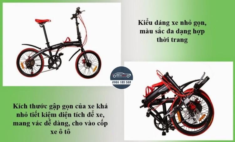 Xe đạp gấp Hachiko – Mua xe đạp gấp Hachiko chính hãng (giá rẻ, đẹp)