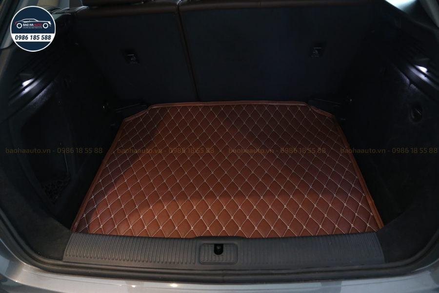 Thảm lót cốp da 3D cho xe Audi