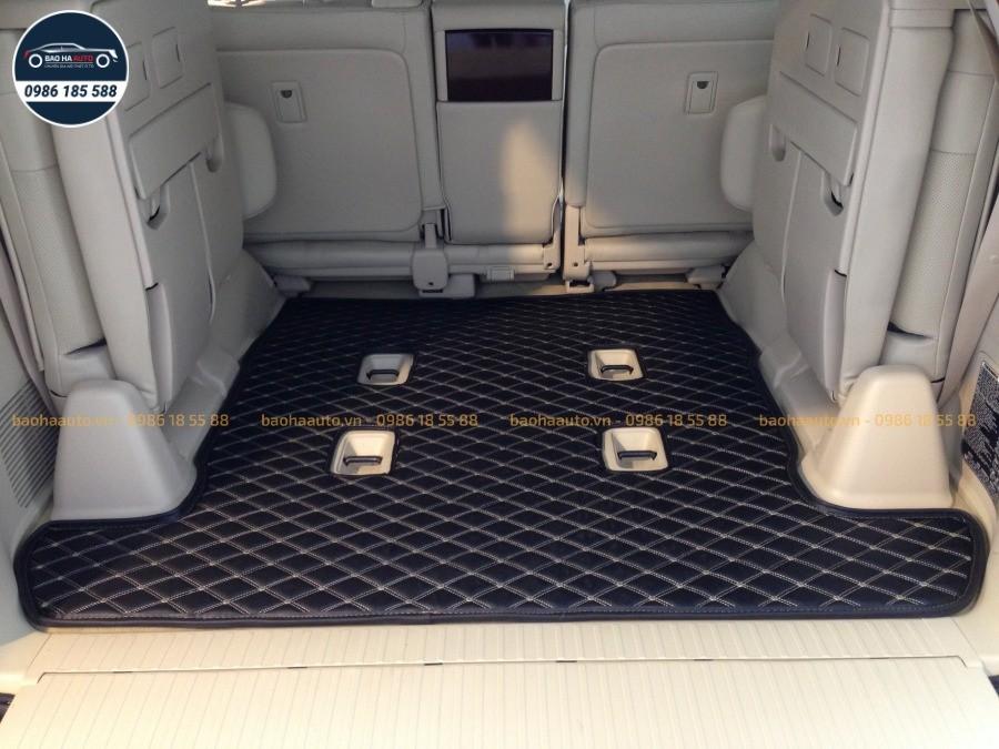 Thảm lót cốp da 3D cho xe Lexus