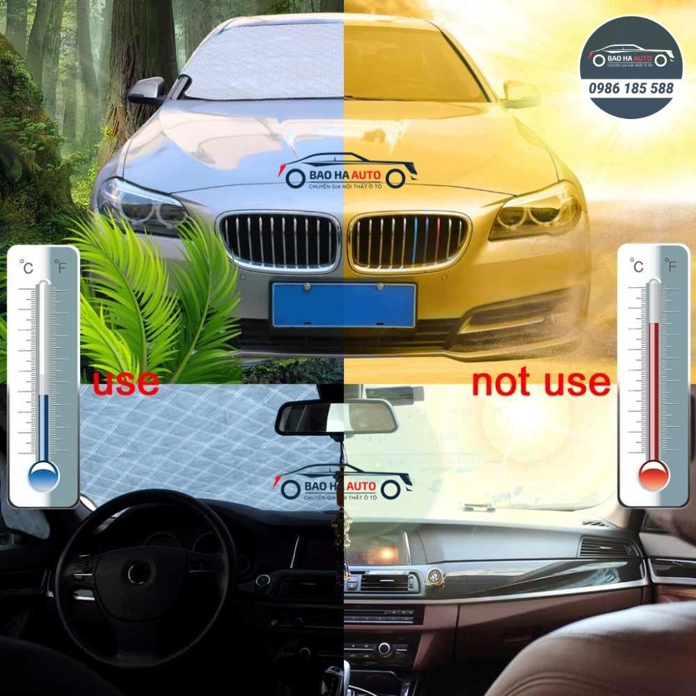 Tấm che chắn nắng kính lái, kính hậu ô tô, xe hơi (cao cấp, giá rẻ)