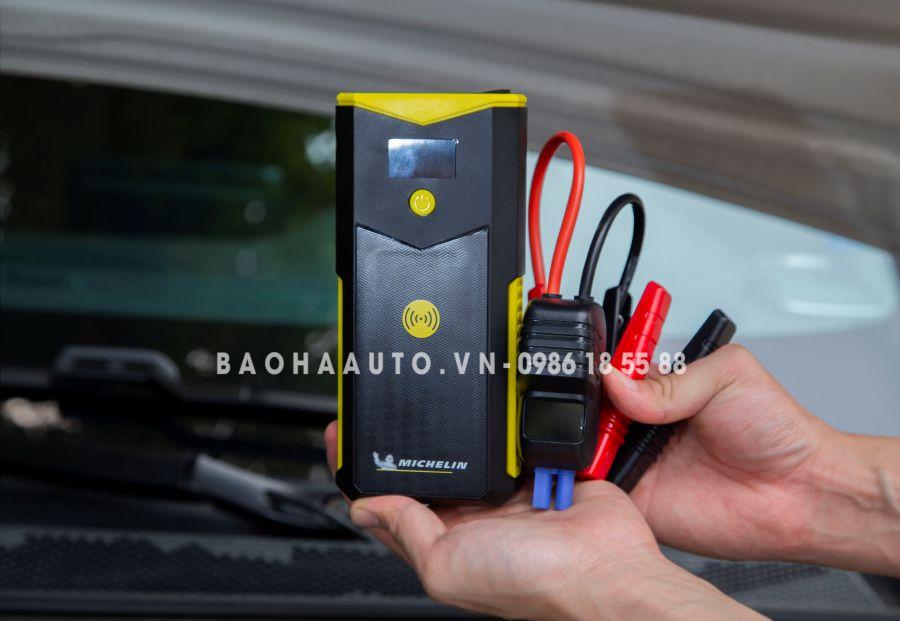 Bộ pin kích nổ kích bình ô tô Michelin 4163ML-12000mAh giá tốt