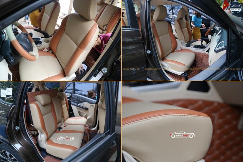 Bọc ghế da ô tô cho xe Mitsubishi da công nghiệp cao cấp