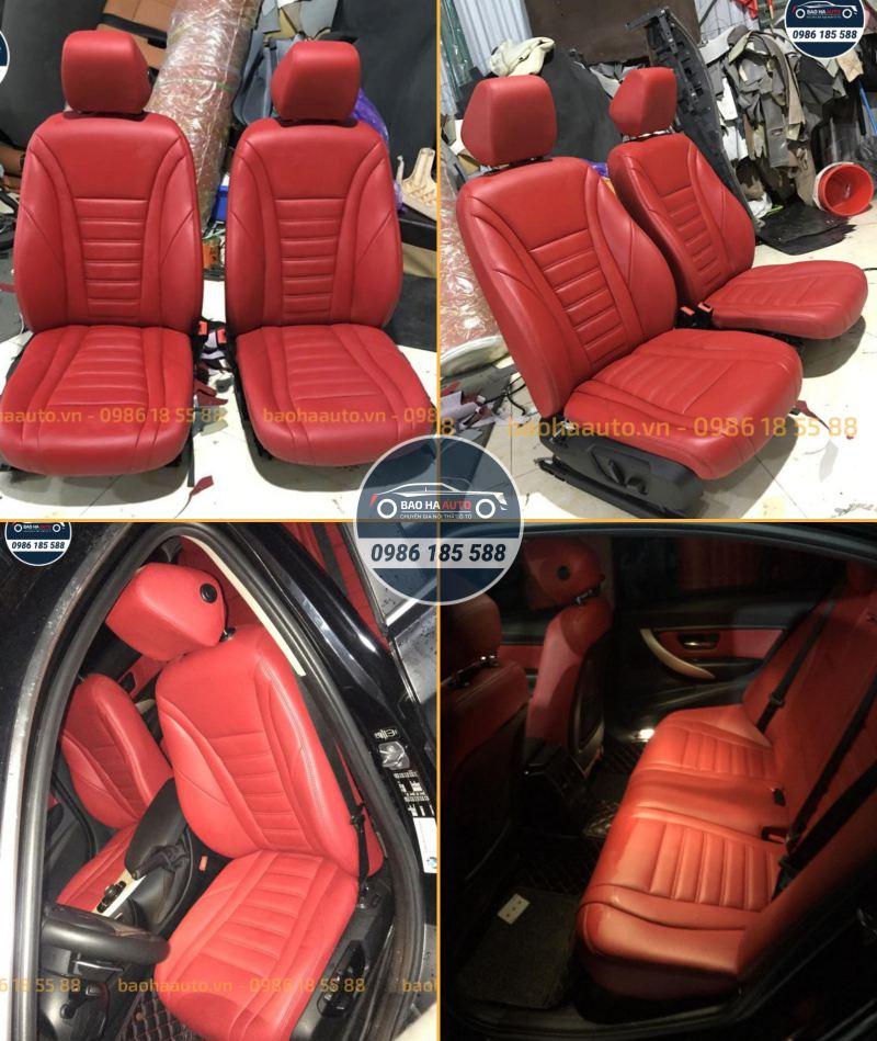 Bọc ghế da cho xe ô tô BMW da công nghiệp cao cấp