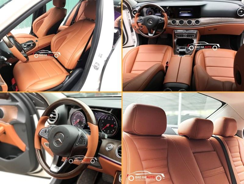 Bọc ghế da ô tô cho xe Mercedes da công nghiệp cao cấp
