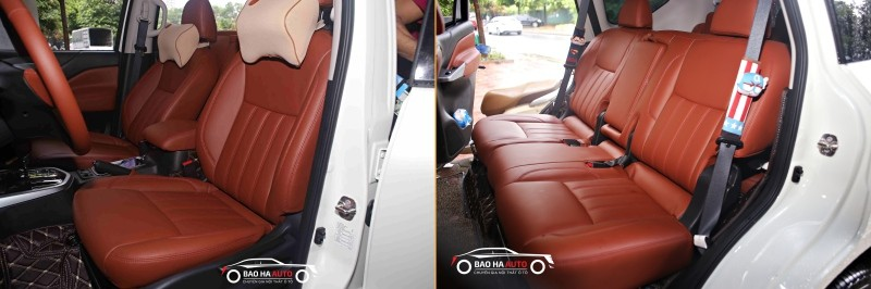 Bọc ghế da ô tô cho xe Nissan da công nghiệp cao cấp