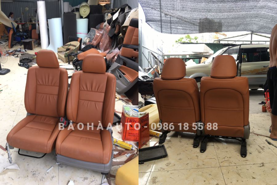 Bọc ghế da Honda. Bảng báo giá và các mẫu bọc ghế đẹp