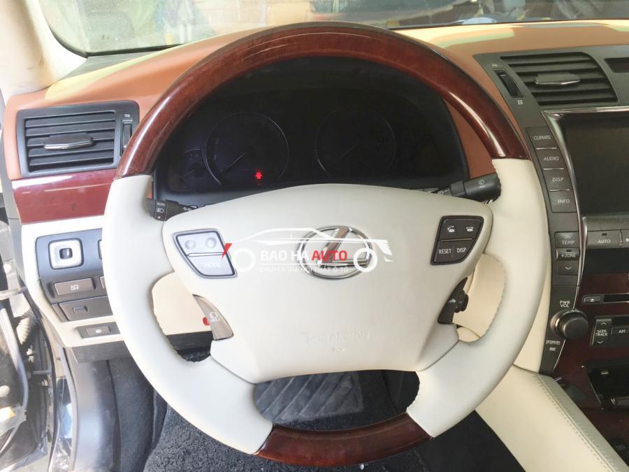 Bọc ghế da Lexus. Thay thiết kế, nâng tầm cảm xúc khi cầm vô lăng