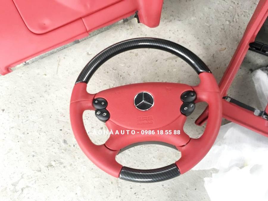 Bọc ghế da Mercedes-Benz. Lột xác tăng sang cho xe thêm đẳng cấp