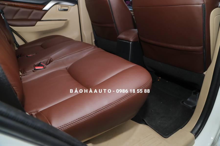 Bọc ghế da Mitsubishi. Bảng báo giá và các mẫu bọc ghế Mitsubishi