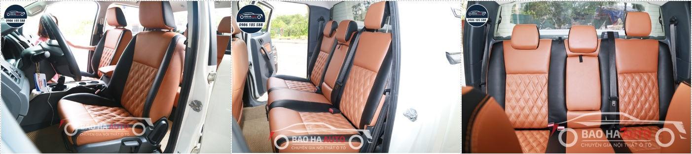 Bọc ghế da ô tô giả da Thái Lan cho xe FORD (uy tín, giá rẻ)