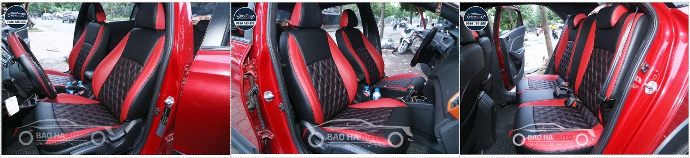 Bọc ghế da ô tô giả da cao cấp Thái Lan cho xe Hyundai (da cao cấp)