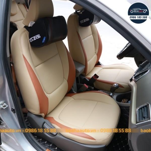 Thảm lót sàn ô tô da carbon cho xe Vinfast cao cấp