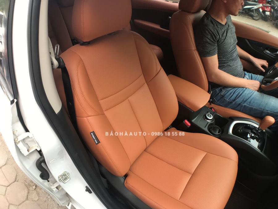 Bọc ghế da ô tô Nissan. Đổi màu nội thất mẫu xe bền bỉ đến từ Nhật