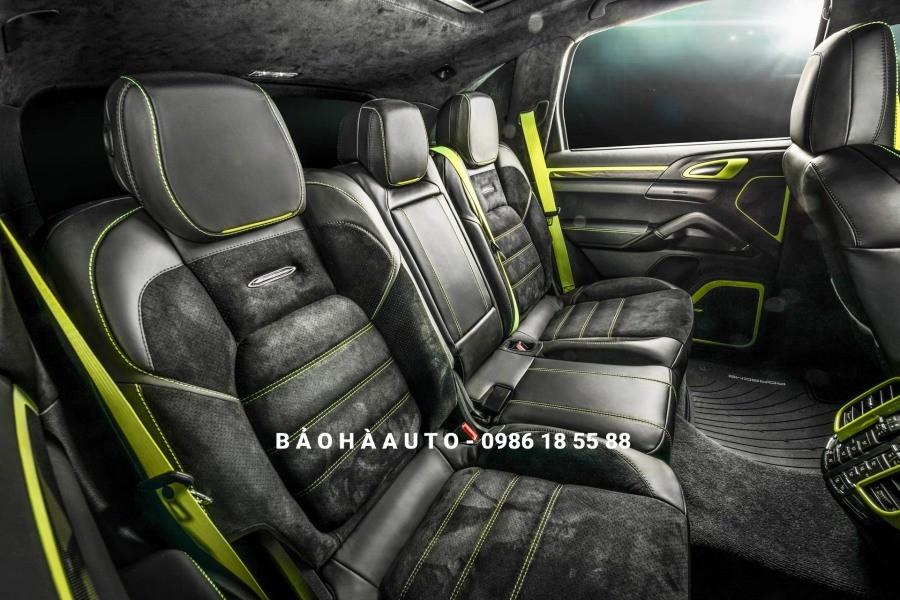Bọc ghế da Porsche cao cấp. Đổi chất cho mẫu xe sang thể thao hiện đại