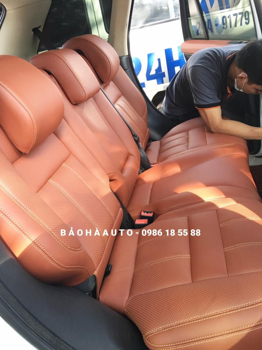 Bọc ghế da Range Rover. Đẳng cấp trên từng chuyển động