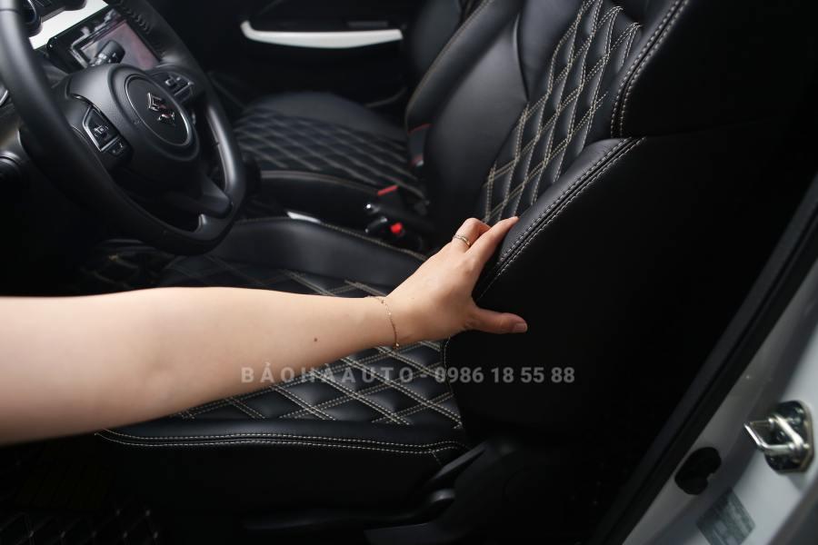 Bọc ghế da Suzuki. Nâng tầm xế yêu của bạn