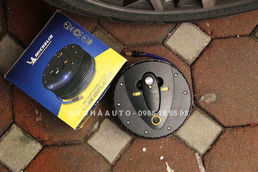 Bơm lốp ô tô Michelin 12260 chuẩn chính hãng (giá tốt)