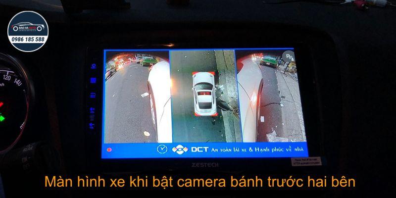 Camera DCT 360 sony bản T2 – Camera 360 toàn cảnh cho Ô Tô
