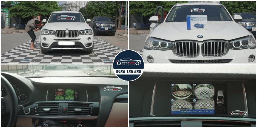 Camera 360 DCT cao cấp cho dòng xe BMW (chính hãng, giá tốt)